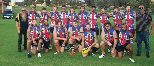 The Brighton Seahawks are getting ready to take on the Yanchep Seahawks this Sunday. Picture: Alison Thorncroft