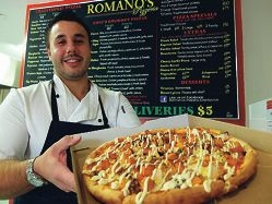 Pizza king humbled by popular awards
