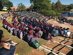 Students make moving tribute