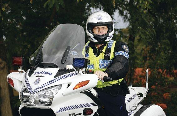 Senior Constable Paul Kay. Picture: Marie Nirme d418182
