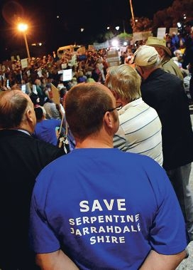 Serpentine-Jarrahdale residents are upset with their MLA over council mergers. Picture: Jon Bassett