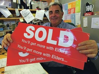 Real estate agent Ian Henry says Chittering offers great value for money.