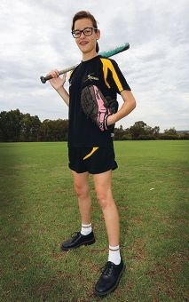 Isabella Ward has been selected to represent WA at the National Schools Championships. Picture: Matt Jelonek d417444