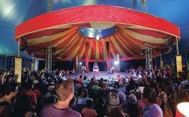 Big top: Joondalup Mayor Troy Pickard is encouraging those who haven't been to the City recently to visit the festival.