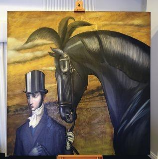 Lauren Wilhelm's work, Journey.