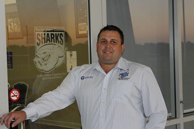 Coastal Sharks chairman Dale Christy.