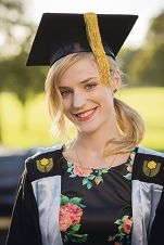 Speech pathology graduate Emily Lowther.