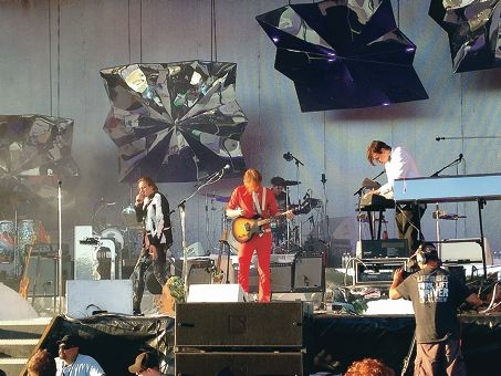 Arcade Fire at the Big Day Out. Picture: Justin Bianchini