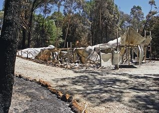 The introduction of new standards for building homes in Perth Hills' bushfire-prone areas is likely to mean residents of last month's fire in Parkerville and Stoneville having to pay thousands of dollars extra. Picture by Bruce Hunt d413779d