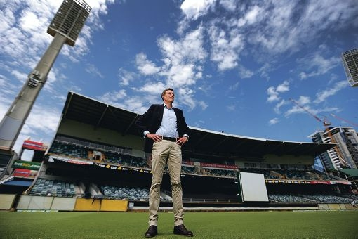 Pearce MHR Christian Porter has been appointed to the WACA board. Picture: Andrew Ritchie d414579