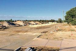 The extension of Suffolk Street in Caversham is expected to be ready by July this year.