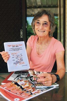Author Christine Oldfield.