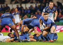 The Western Force in action.