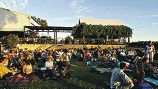 Twilight concert at Upper Reach Winery.