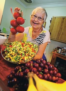 Elfie Joost of Shelley.  Elfie recently went through the CHIP (Complete Health Improvement Program) health program and has greatly improved her lifestyle and health.