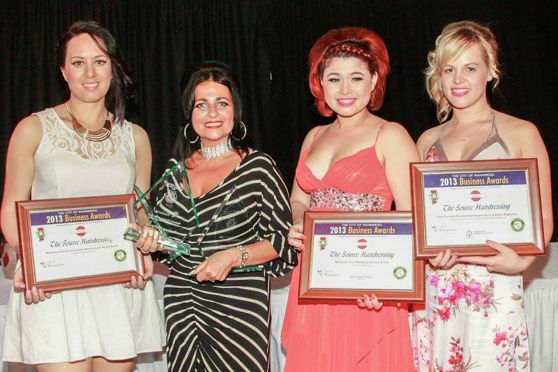 Hairdressers scoop three business awards