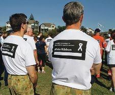 White Ribbon day.