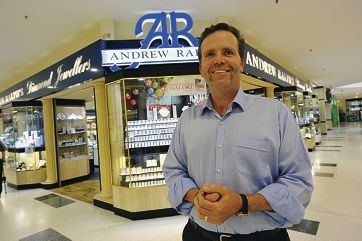 Andrew Ralph is getting behind the Times' charity campaign. Picture: Jon Hewson www.communitypix.com.au d410918
