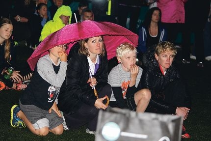 Community members rallied to show support for cancer victims and survivors at the Joondalup Wanneroo Relay for Life.