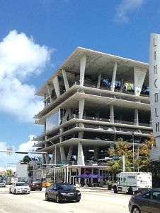 The innovative 1111 Lincoln Street carpark in Florida.