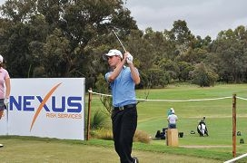 Canning Vale golfer Jarryd Felton finished 25th in the WA Open.