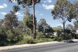 The Shire of Kalamunda has approved this site for a place of worship to be built on Rooth Road in Lesmurdie. d409392