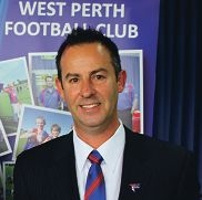 West Perth president Brett Raponi.