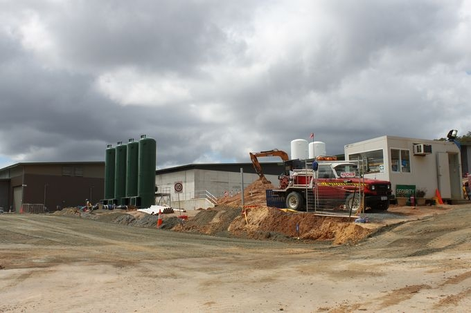 The Mundaring Water Treatment plant.