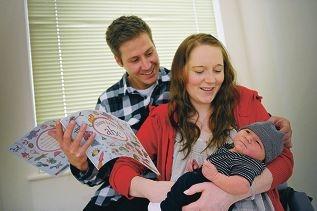 Zak Klauz & Kelly Ward Rory Klauz - Born - 8.09.2013