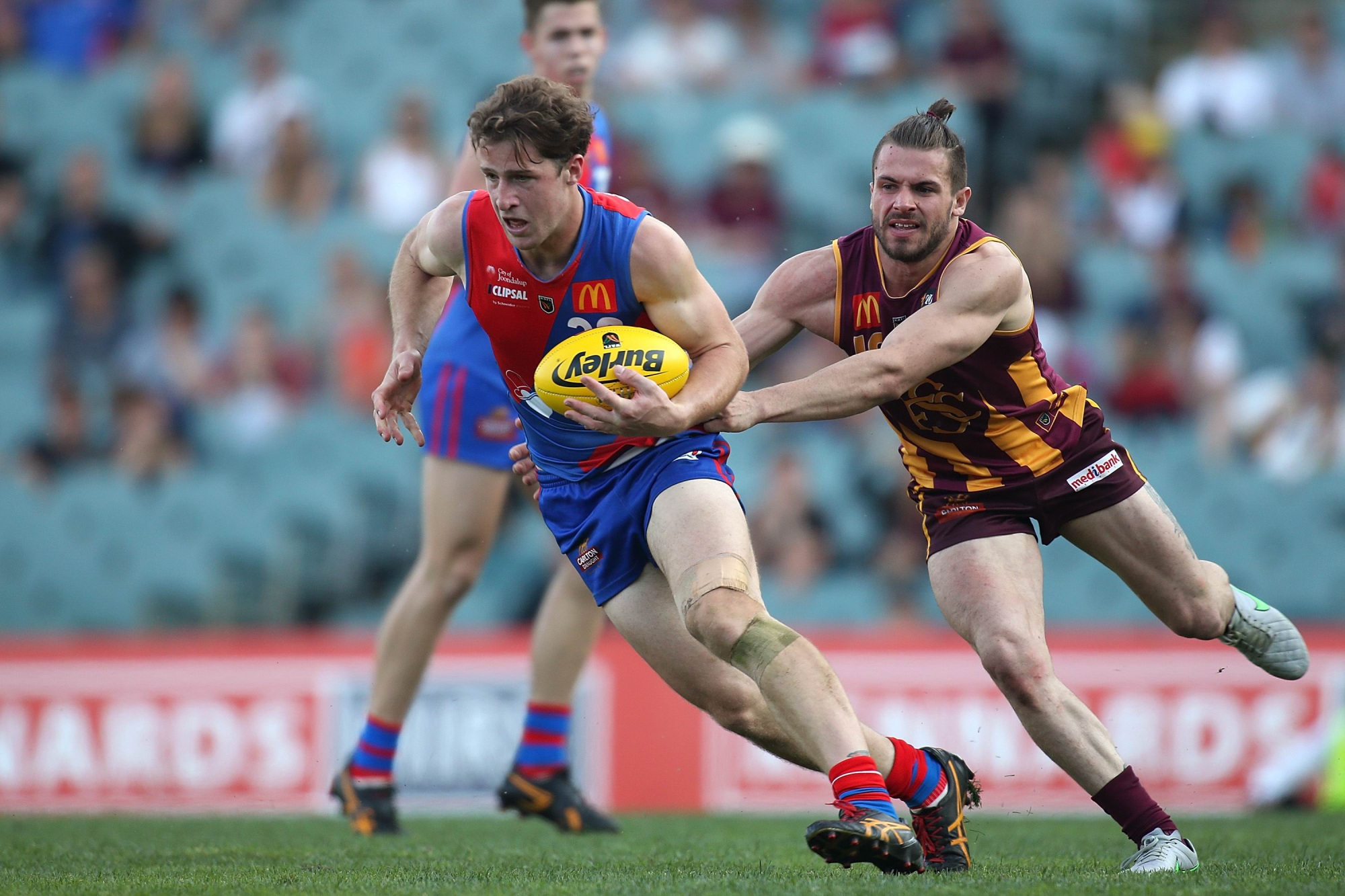 Nick Rodda played the WAFL grand final injured. Picture: Getty Images