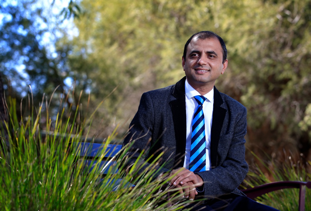 Not just a tree-hugger: Muhammad Salman is the Greens candidate for Burt. Picture: Marie Nirme www.communitypix.com.au   d453934