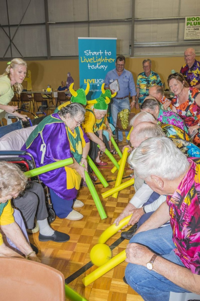 Fun and games for seniors teams