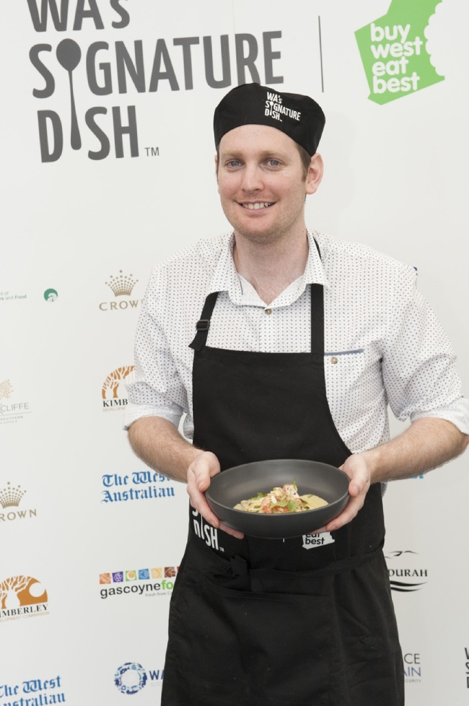 MATT Cook is celebrating after making the final of WA's Signature Dish competition. Representing Swan Valley & Surrounds, Matt now goes into the November 22 final with his dish of lemon myrtle marron laksa inspired curry.