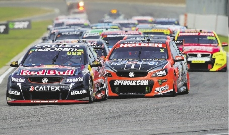 V8 racing at Barbagallo Raceway is assured for the next three years.