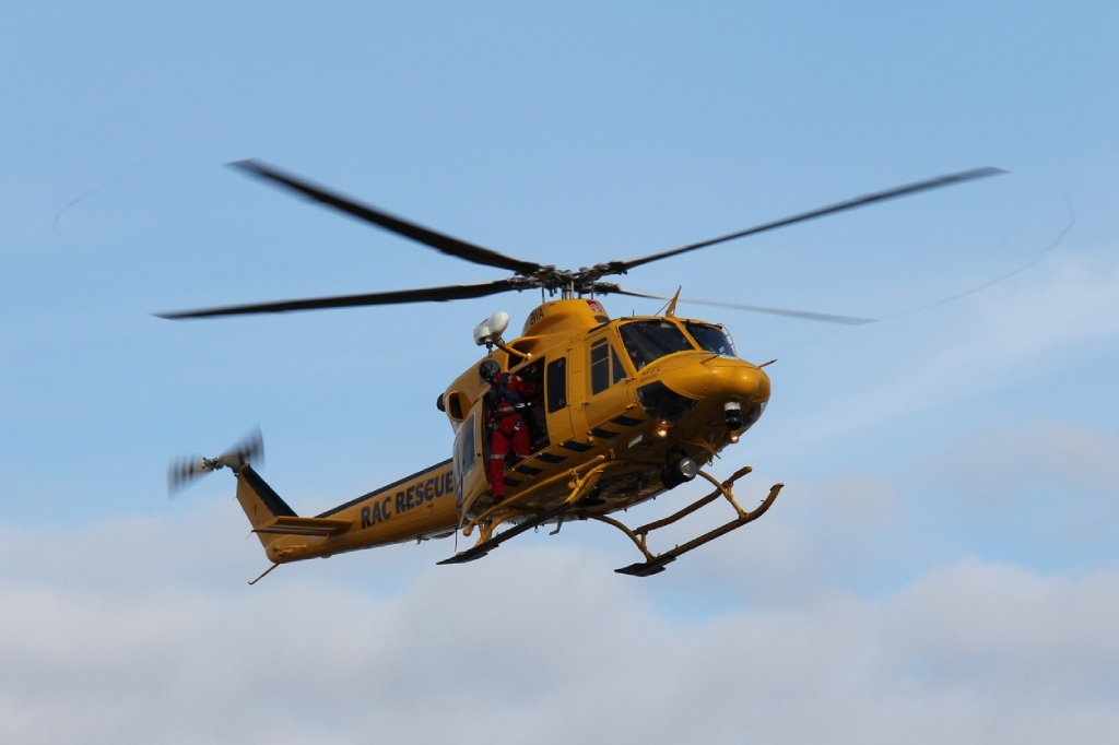 Motorbike crash in Lancelin dunes, man airlifted