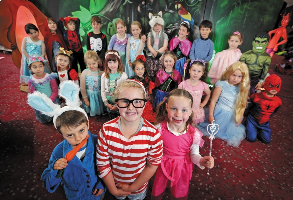 Students dress up as their favourite book character to celebrate Book Week.