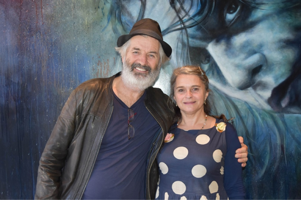 John Jarratt and Kaarin Fairfax co-direct and co-star in StalkHer.