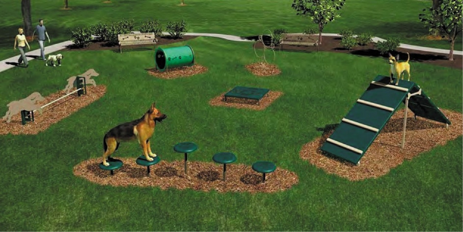 Support for off-leash park