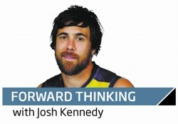Western Derby: Josh Kennedy says Josh Hill really stepped up to cover the loss of Le Cras