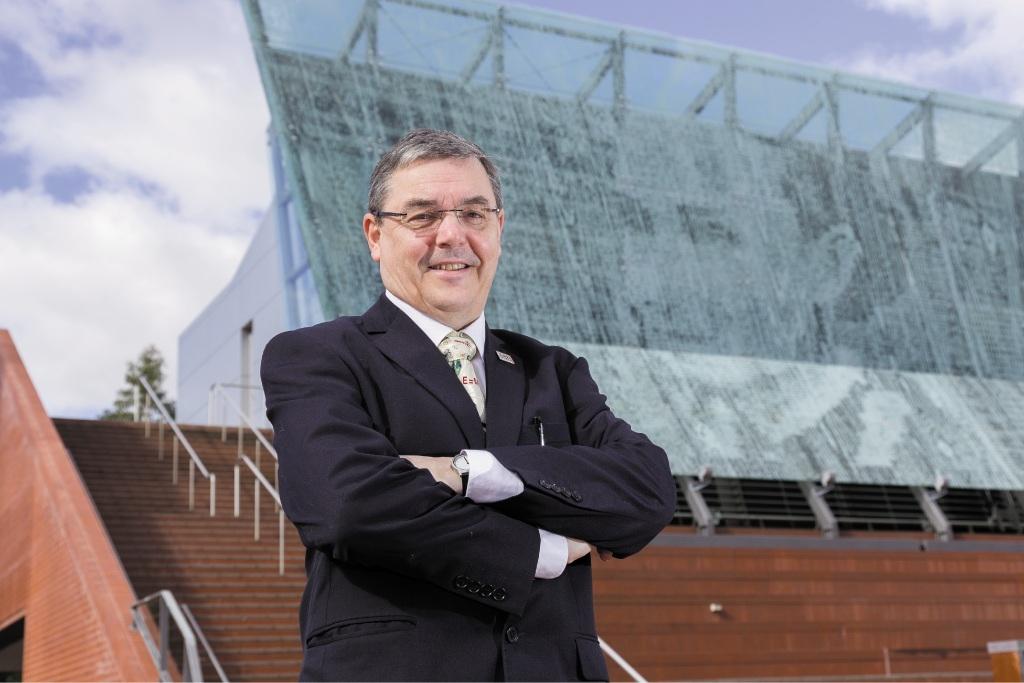 ECU vice-chancellor Steve Chapman.