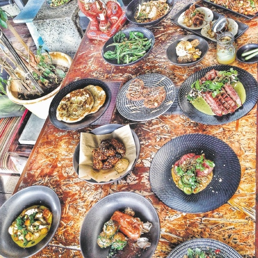 Kitsch has transformed its decor and menu as it develops into a serious food destination. Picture: Cheyne Tillier-Daly