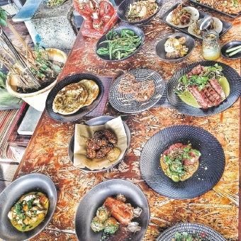 Kitsch has transformed its decor and menu as it develops into a serious food destination.Pictures: Cheyne Tillier-Daly