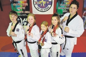 Rodney Hartmann, Alana Broomer, Tiala Skey, LarnieHenness and Jamie Gaymer made their mark in competition.