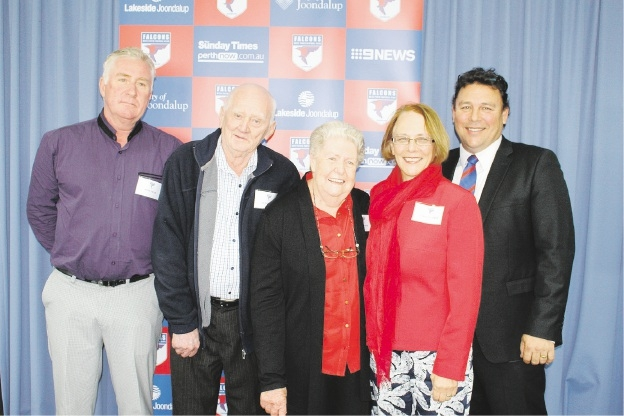 WAFL: Lunch at West Perth with footy's stars