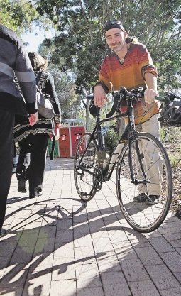 Sustainability lecturer Dr Martin Brueckner believes more needs to be done for cyclists.