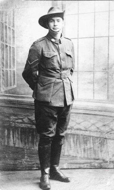 Cedric Rosser was one of the first men to land at Gallipoli.
