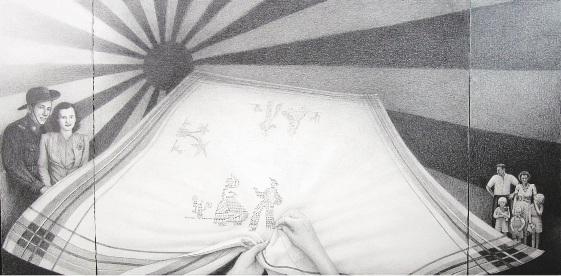 Alan Muller's artwork In the Wake of War.