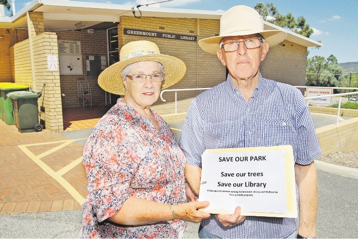Elsie and Bernard Cooke are supportive of the push to hold on to their local library.