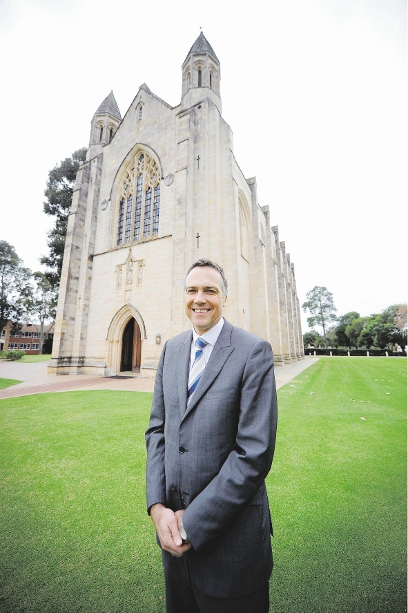 Guildford Grammar School headmaster Stephen Webber.