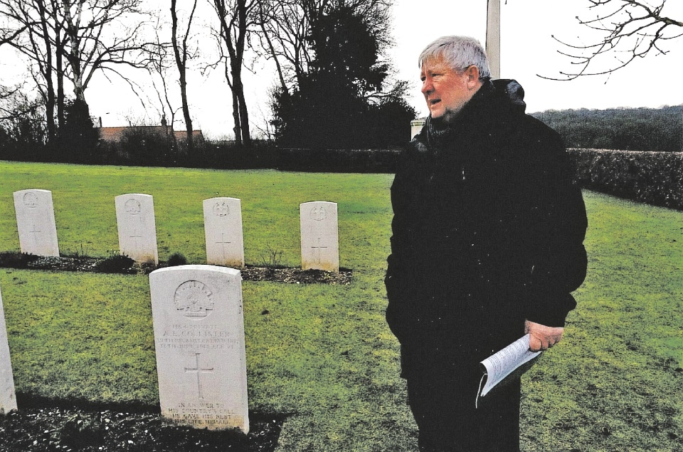 Ray Foster retraces the footsteps of his uncle in France.